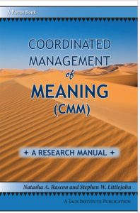 The Coordinated Management of Meaning: A Research Manual