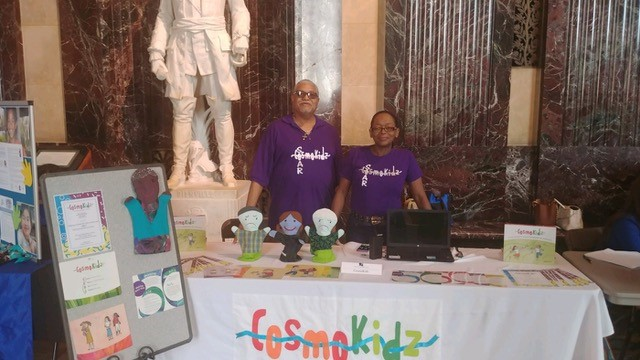 CosmoKidz stand in Louisianna